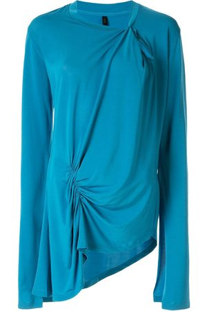 Unravel Project Asymmetric ruched detail top