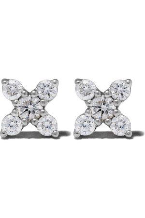Dana Rebecca Designs 14kt white Ava Bea X diamond studs