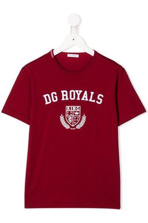 Dolce & Gabbana Kids DG Royals print T-shirt