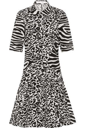 Proenza Schouler Animal-print cotton shirtdress