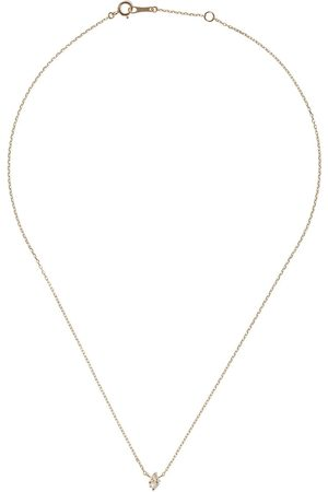 Mizuki 14kt diamond delicate necklace