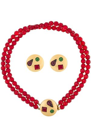 Givenchy Pre-Owned Women Necklaces - 1980s embellished necklace and earrings set