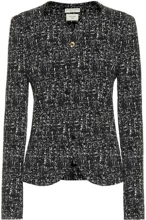 Bottega Veneta Tweed wool and cotton blazer