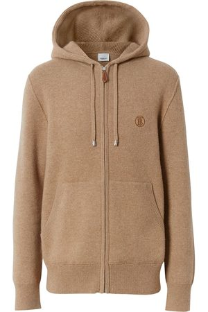 Burberry Cashmere TB motif hoodie
