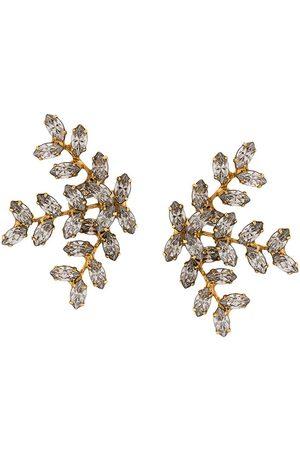 Jennifer Behr Vinette leaf earrings
