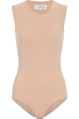 Maison Margiela Sleeveless stretch-jersey bodysuit