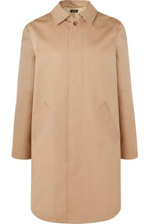 A.P.C Cotton-twill Trench Coat
