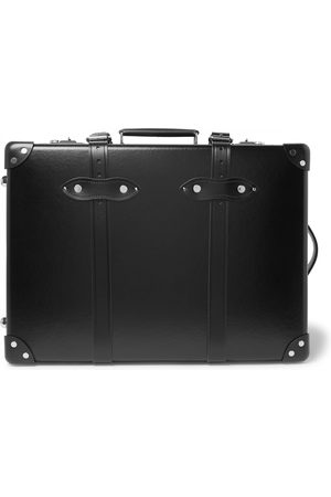 """Globetrotter Centenary 20 Leather-Trimmed Carry-On Suitcase"""""""