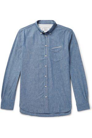 OFFICINE GENERALE Cotton-chambray Shirt