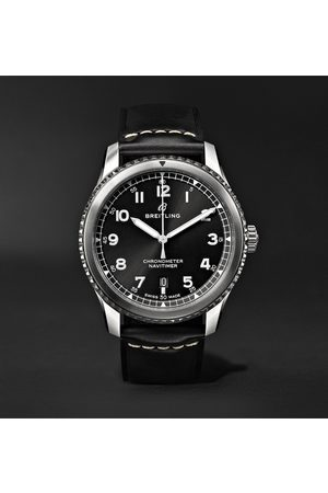 Breitling Navitimer 8 Automatic 41mm Steel And Leather Watch, Ref. No. A17314101b1x1