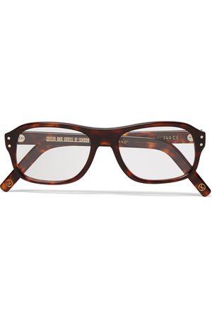 KINGSMAN + Cutler And Gross Square-frame Acetate Optical Glasses