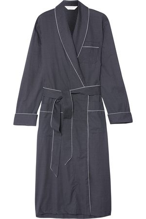 DEREK ROSE Plaza Polka-dot Cotton Robe