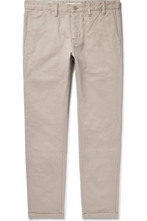 Norse projects Men Chinos - Aros Heavy Tapered Cotton-twill Chinos