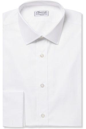 Charvet Royal Slim-fit Cotton Oxford Shirt