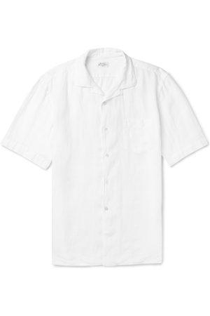 HARTFORD Men Casual - Camp-collar Linen Shirt