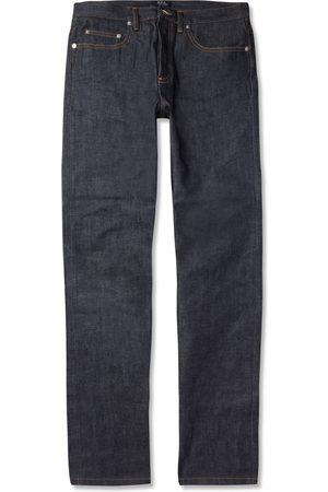 A.P.C New Standard Dry Selvedge Denim Jeans