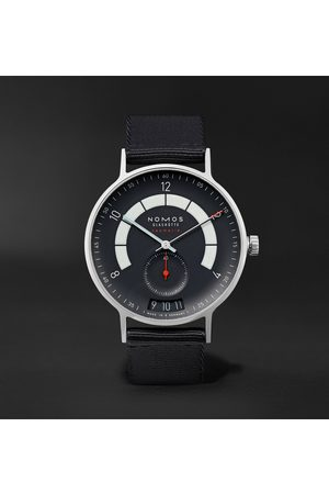 Nomos Glashütte Autobahn Neomatik Datum Automatic 41mm Stainless Steel And Nylon Watch, Ref. No. 1302