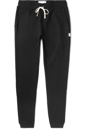 Reigning Champ Men Skinny Pants - Slim-Fit Loopback Cotton-Jersey Sweatpants