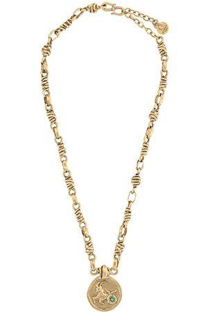 Goossens Talisman Capricorn medal necklace