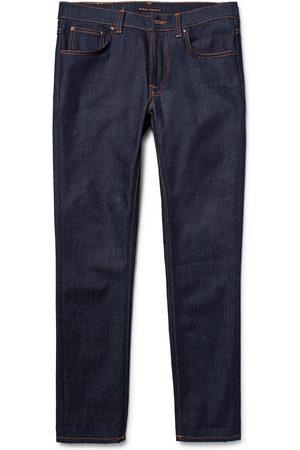 Nudie Lean Dean Slim-fit Dry Organic Denim Jeans