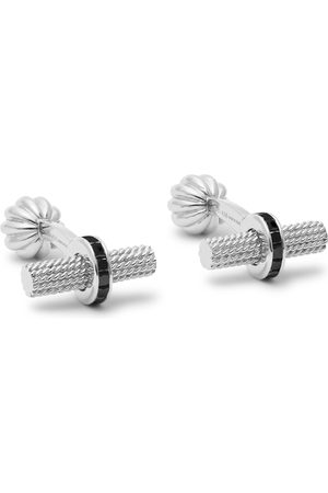 Tom Ford 18-karat White Gold Diamond Cufflinks