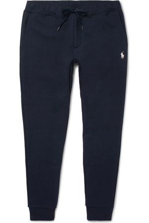 Polo Ralph Lauren Men Skinny Pants - Slim-Fit Mélange Tapered Jersey Sweatpants
