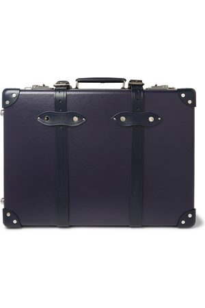 "Globetrotter 20"" Leather-trimmed Carry-on Suitcase"