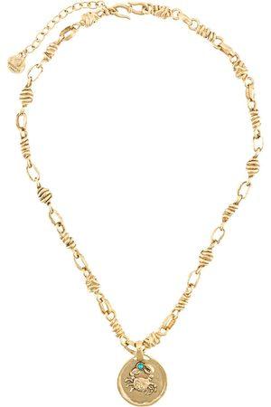 Goossens Talisman Cancer medal necklace