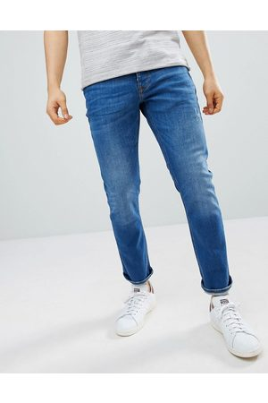 River Island Slim jeans in mid wash