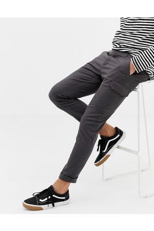 ASOS Skinny cargo trousers in washed