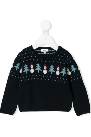 KNOT Kevin The Snowman sweater