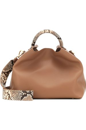 Elleme Raisin leather shoulder bag