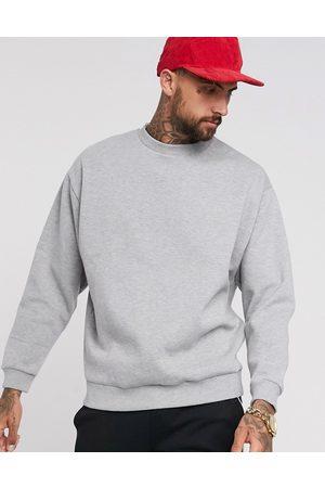 ASOS Oversized sweatshirt in marl