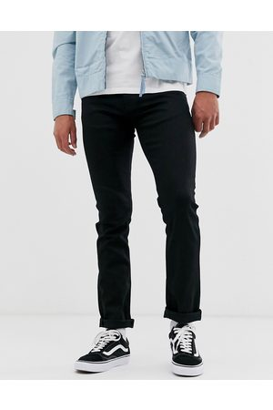 Nudie Co Grim Tim slim straight fit jeans in dry ever wash