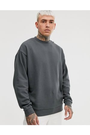 ASOS Oversized sweatshirt in washed