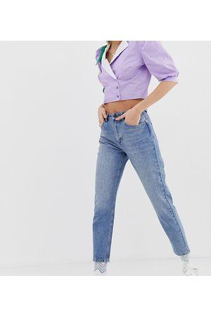 Reclaimed Vintage Women Boyfriend - The '89 slim tapered leg jean in vintage mid stone wash