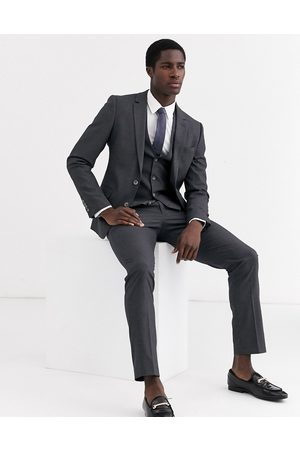 ASOS Skinny suit jacket in charcoal