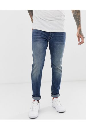 G-Star Men Slim - 3301 slim fit jeans in medium aged