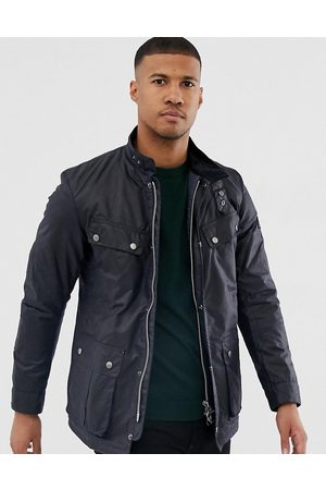 Barbour Duke slim fit wax jacket