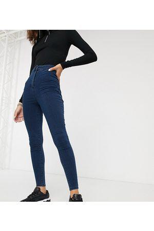 COLLUSION X002 super skinny high waist jean in dark wash