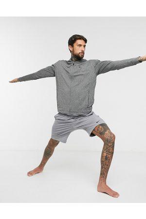 Nike Nike Yoga zip-up hoodie in dark