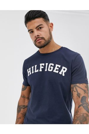 Tommy Hilfiger Logo crew lounge t-shirt in