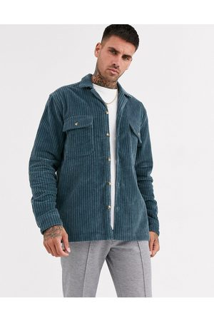ASOS Cord overshirt in dusty