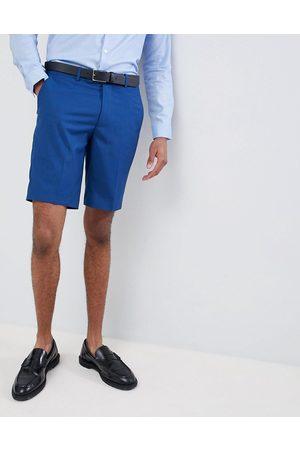 Farah Men Shorts - Farah skinny wedding suit shorts in