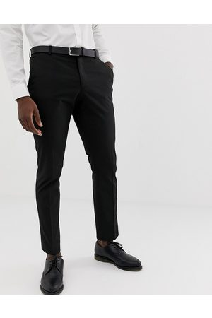 SELECTED Slim fit stretch suit trousers in