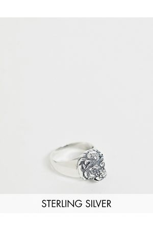 ASOS Sterling lion ring