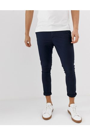 ASOS Super skinny cropped chinos in
