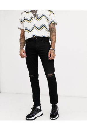 ASOS Skinny jeans in with knee rips