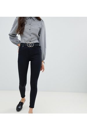 Miss Selfridge Lizzie high waist skinny jeans in