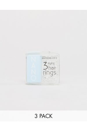 invisibobble Nano Styling Hair Tie- Crystal Clear-No colour